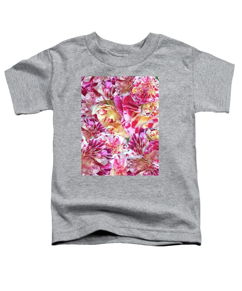Rose Collage Toddler T-Shirt