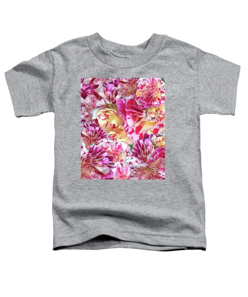 Rose Collage Toddler T-Shirt