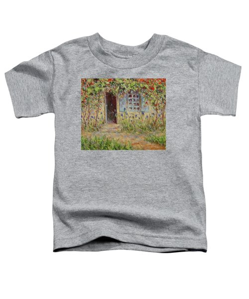 Rose Trees At The Front Of The House Toddler T-Shirt