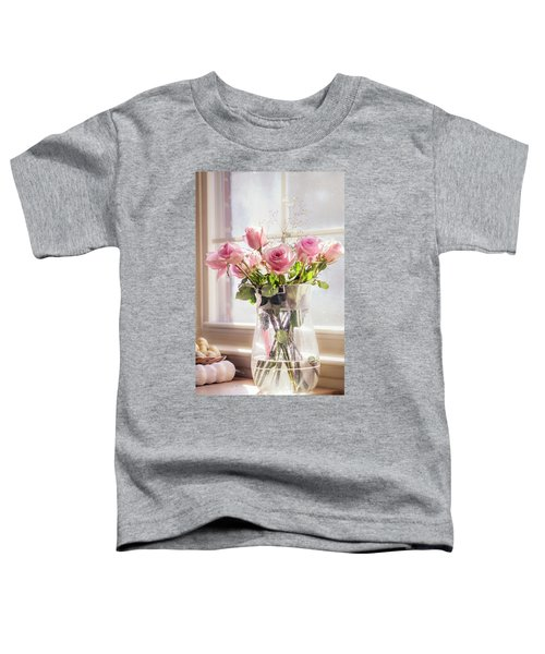 Roses In The Kitchen Toddler T-Shirt