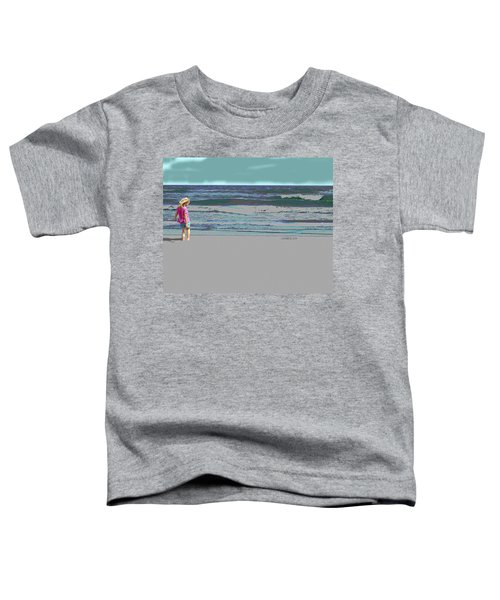 Rosie On The Beach Toddler T-Shirt