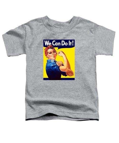 Rosie The Rivetor Toddler T-Shirt