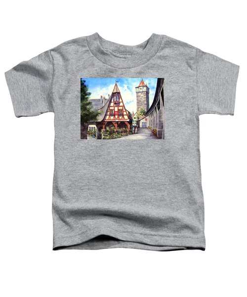 Rothenburg Memories Toddler T-Shirt