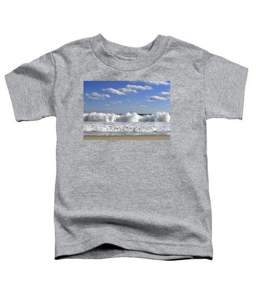 Rough Surf Jersey Shore  Toddler T-Shirt