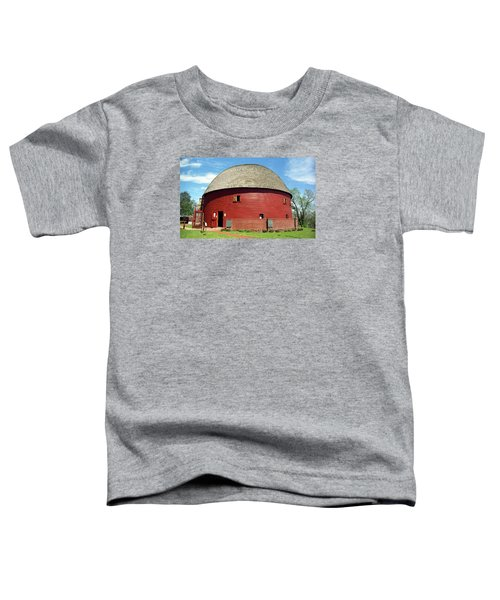 Route 66 - Round Barn Toddler T-Shirt