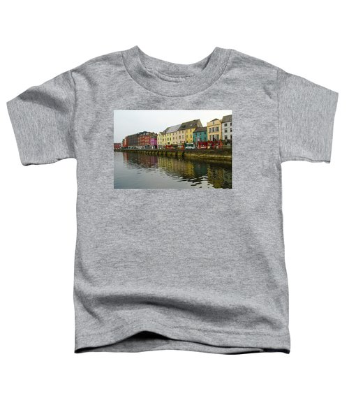 Row Homes On The River Lee, Cork, Ireland Toddler T-Shirt