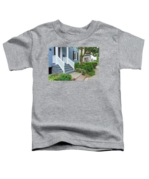 Row Of Historic Row Houses Toddler T-Shirt