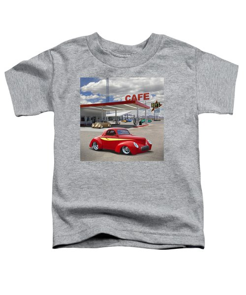 Roy's Gas Station - Route 66 2 Toddler T-Shirt