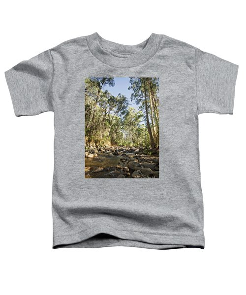 Toddler T-Shirt featuring the photograph Rubicon River by Linda Lees