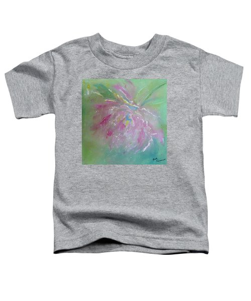 Ruby Red Peony Toddler T-Shirt