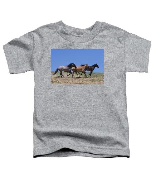 Running Free- Wild Horses Toddler T-Shirt