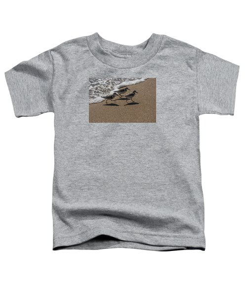 Running From The Water Toddler T-Shirt