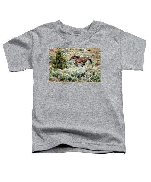 Running Through Sage Toddler T-Shirt