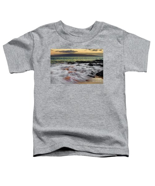 Running Wave At Keawakapu Beach Toddler T-Shirt