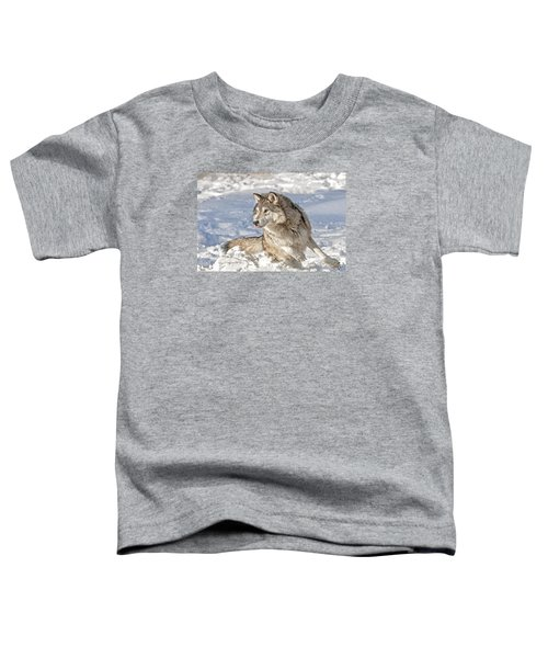 Running Wolf Toddler T-Shirt