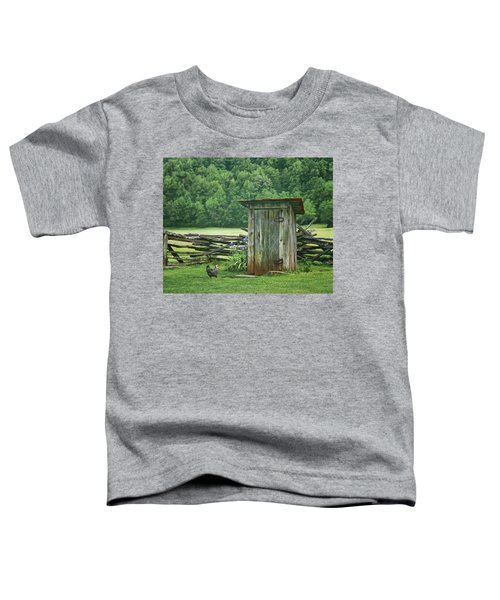 Rural Outhouse Toddler T-Shirt