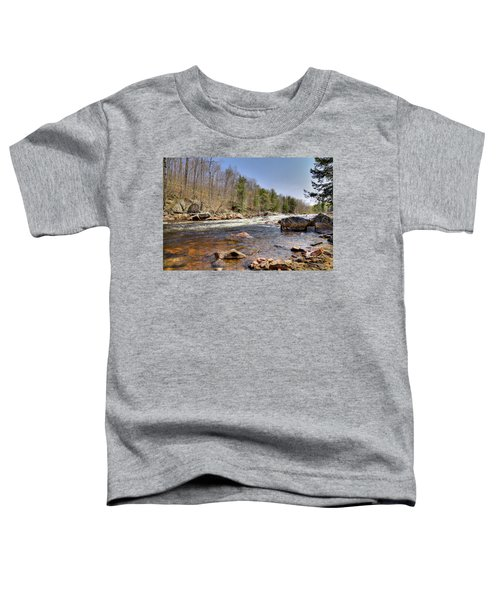 Toddler T-Shirt featuring the photograph Rushing Waters Of The Moose River by David Patterson