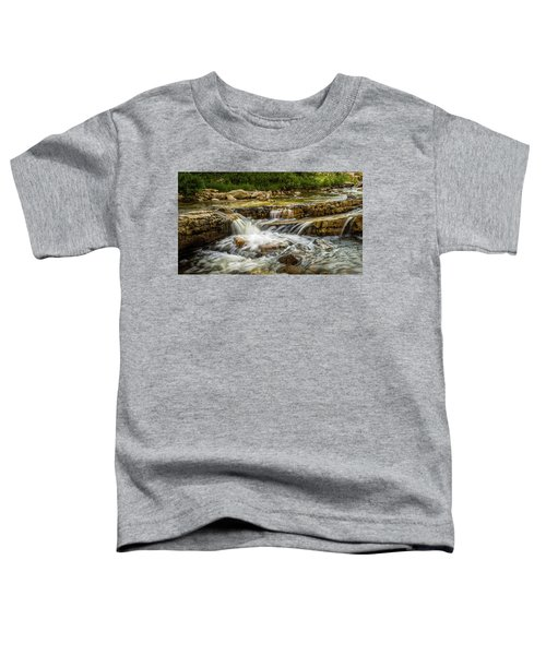 Rushing Waters - Upper Provo River Toddler T-Shirt