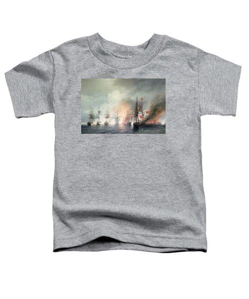 Russian Turkish Sea Battle Of Sinop Toddler T-Shirt