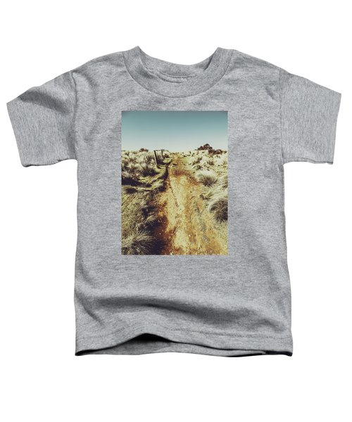 Rustic Country Trails Toddler T-Shirt