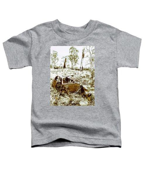 Rustic Rural Decay Toddler T-Shirt