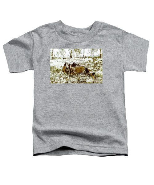 Rusty Old Holden Car Wreck  Toddler T-Shirt