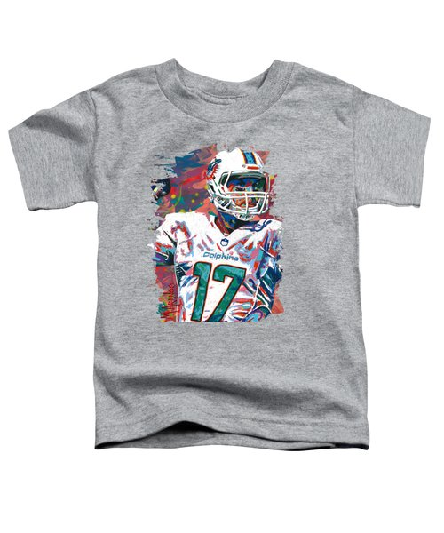 Ryan Tannehill Toddler T-Shirt by Maria Arango