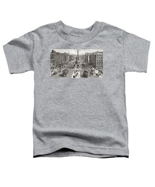 Sackville Street  Now O Connell Street Toddler T-Shirt