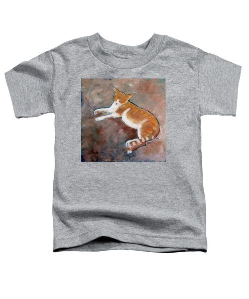 Saddle Tramp- Ranch Kitty Toddler T-Shirt