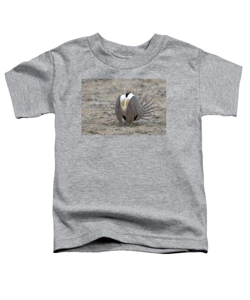 Sage Grouse Toddler T-Shirt