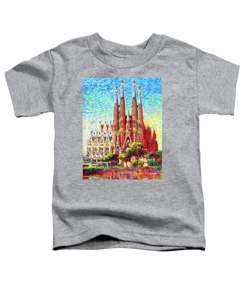 Sagrada Familia Toddler T-Shirt