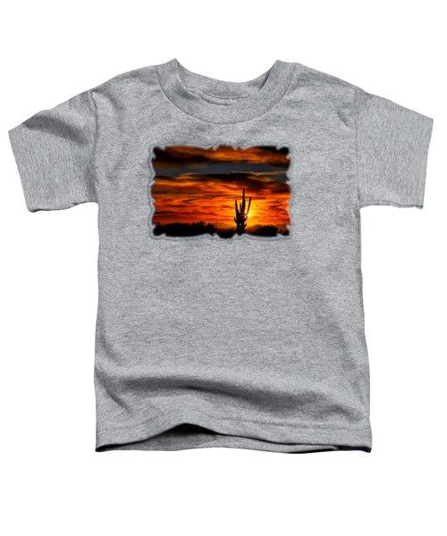 Saguaro Sunset H31 Toddler T-Shirt