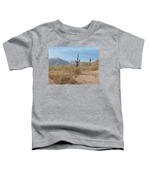 Saguaros On A Hillside Toddler T-Shirt