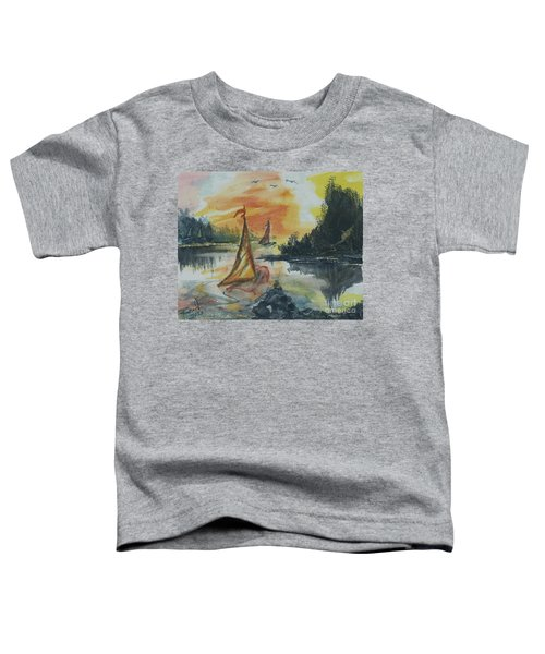 Sail Away Toddler T-Shirt