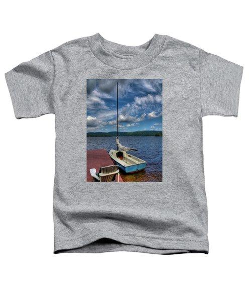 Sailboat On First Lake Toddler T-Shirt