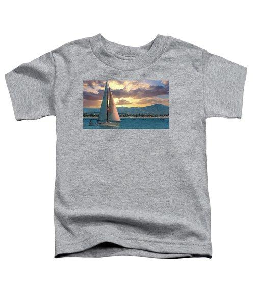 Sailing In San Diego Toddler T-Shirt