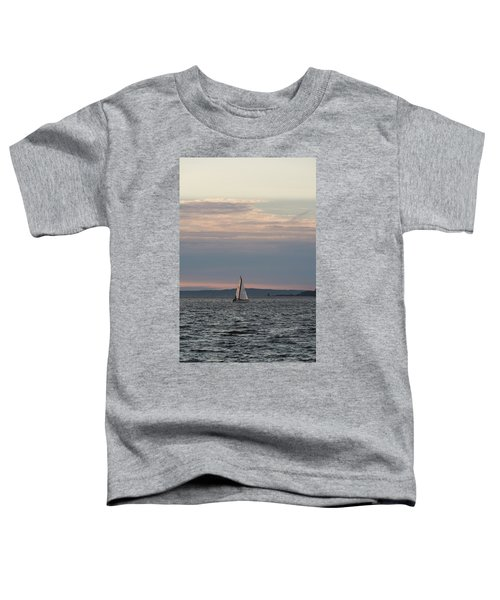 Sailing In The Puget Sound Toddler T-Shirt