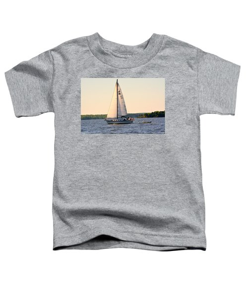 Sailing On Lake Murray Sc Toddler T-Shirt