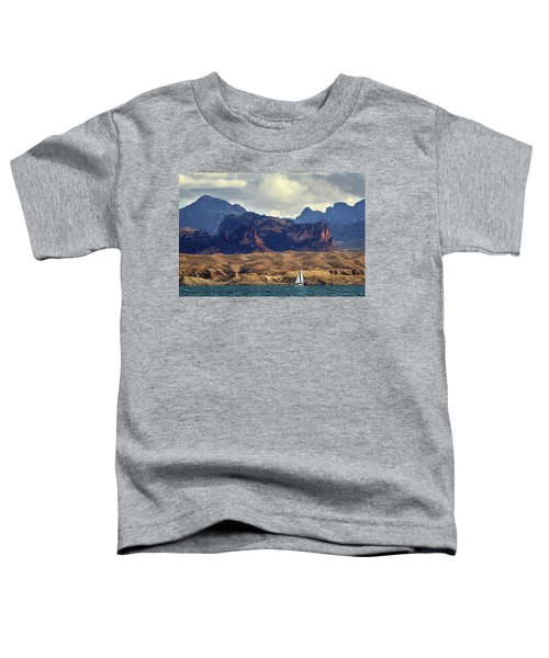 Sailing Past The Sleeping Dragon Toddler T-Shirt