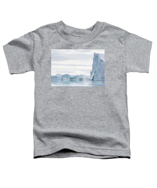 Sailing Through  The Icefjord Toddler T-Shirt