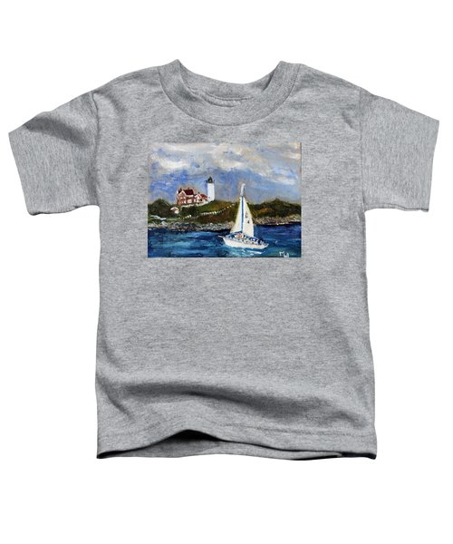Sailing To Martha's Vineyard Toddler T-Shirt