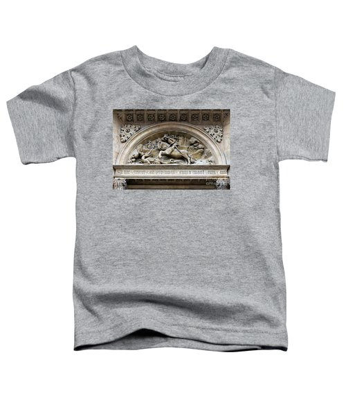 Saint George And Dragon Toddler T-Shirt