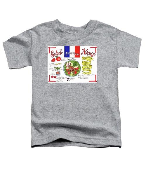 Salade Nicoise Toddler T-Shirt