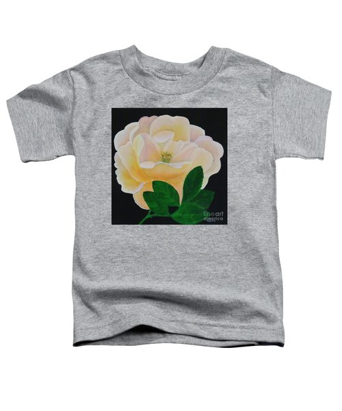 Salmon Pink Rose Toddler T-Shirt