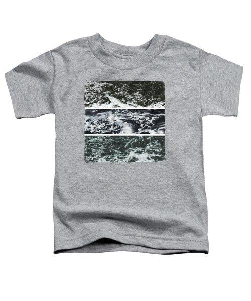 Saltwater Triptych Variation 3 Toddler T-Shirt