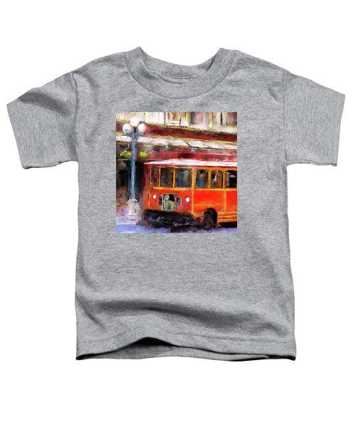 San Antonio 5 Oclock Trolley Toddler T-Shirt