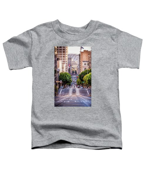 San Fran Cable Car Toddler T-Shirt