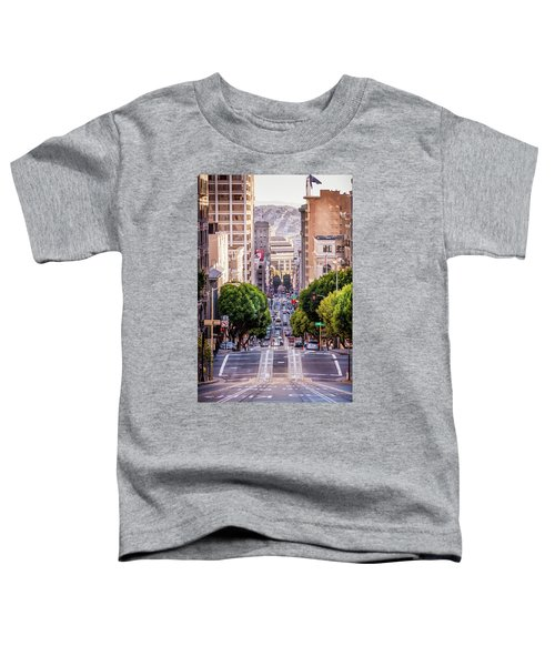 San Fran Cable Car Toddler T-Shirt