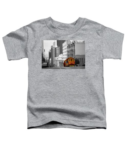 San Francisco Cable Car - Highlight Photo Toddler T-Shirt