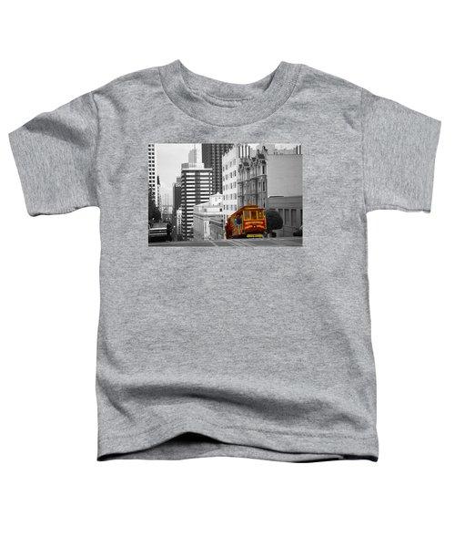 San Francisco Cable Car - Highlight Photo Toddler T-Shirt